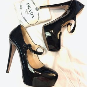 gorgeous Prada Mary-jane pumps